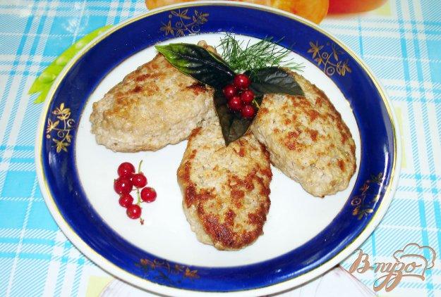 Рецепт Котлеты из свинины с яблоком