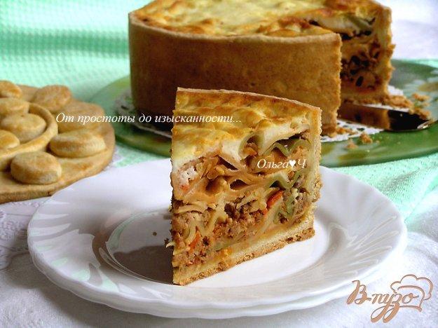 Рецепт Тимбале (Timbale) - праздничный итальянский пирог