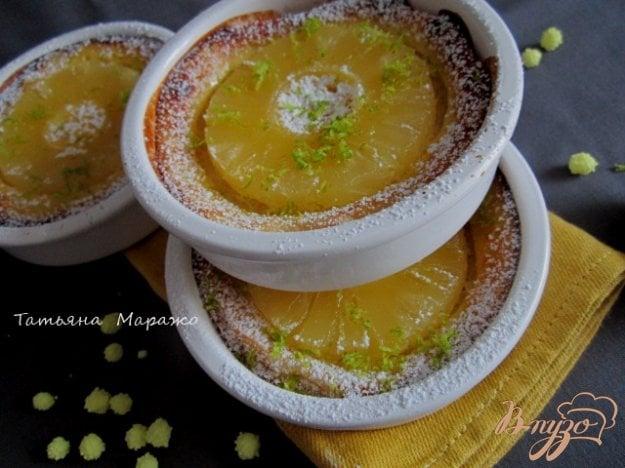 фото рецепта: Гренки с ананасом