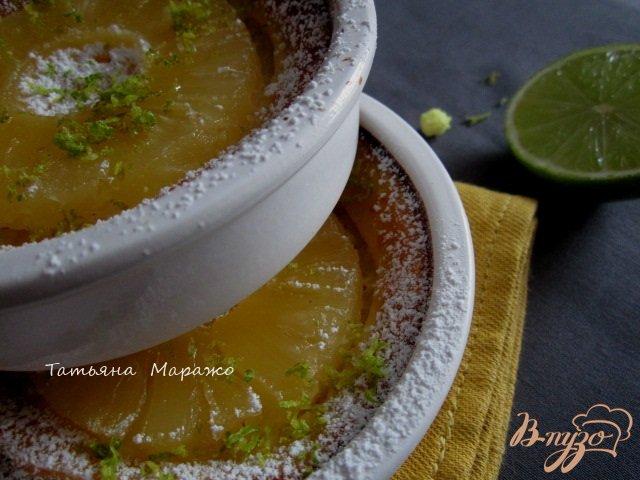 Фото приготовление рецепта: Гренки с ананасом шаг №8