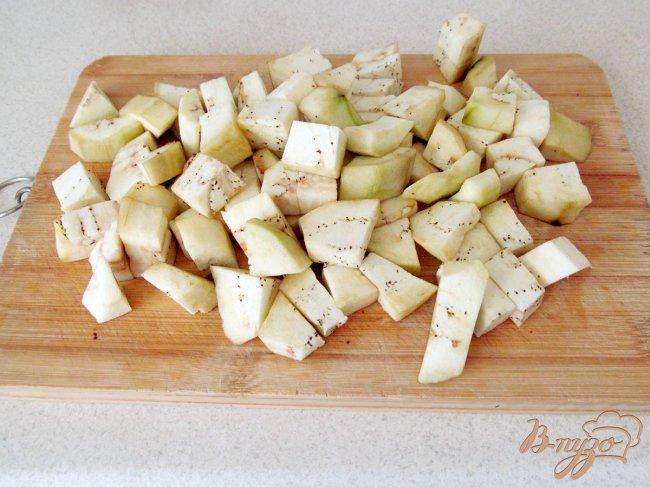 Фото приготовление рецепта: Баклажаны, как грибы шаг №1