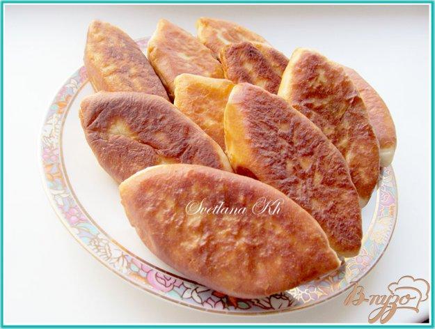 Рецепт Пирожки с мясом, капустой и помидорами