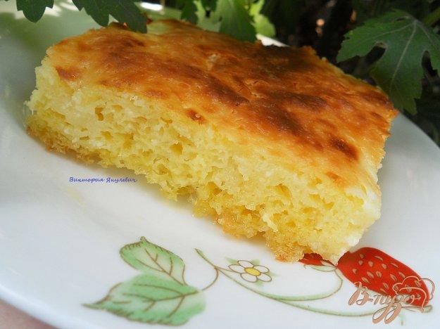 Рецепт Дрожжевой сахарный пирог
