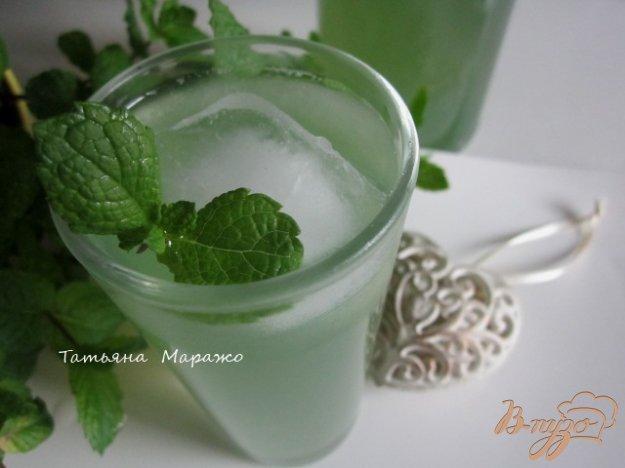 Рецепт Мятно-имбирный напиток
