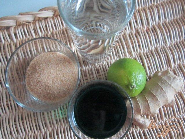 Фото приготовление рецепта: Мятно-имбирный напиток шаг №1
