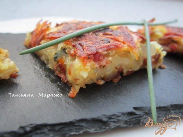 Рецепт Картофельная тортилья с ветчиной