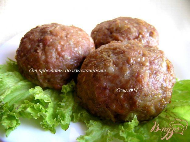 Рецепт Котлетки с кунжутом в духовке