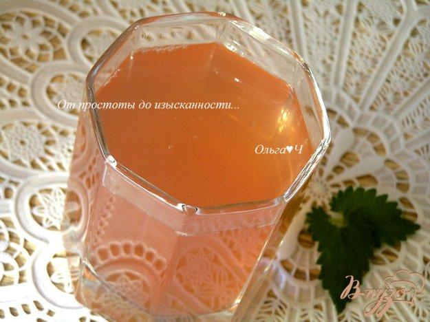 Рецепт Черешнево-яблочный компот с мятой