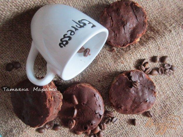 Рецепт Кофейные брауни с миндалем