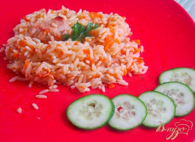 Фото приготовление рецепта: Плов из курицы шаг №8