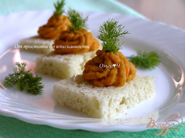 Рецепт Быстрый паштет из чечевицы