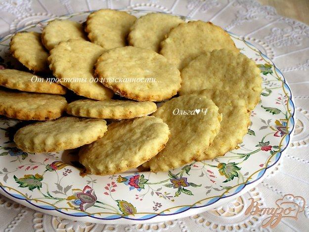 Рецепт Лимонное печенье с овсяными хлопьями