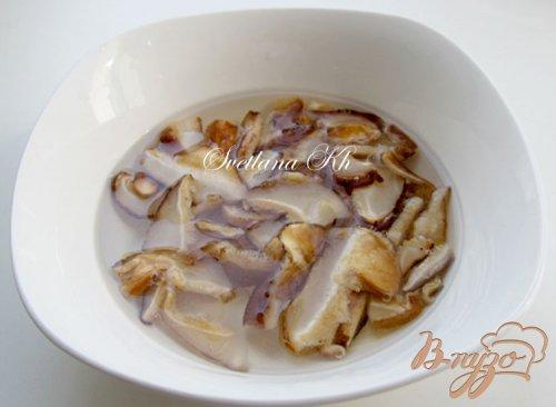 Постный суп - гуляш с грибами по - венгерски