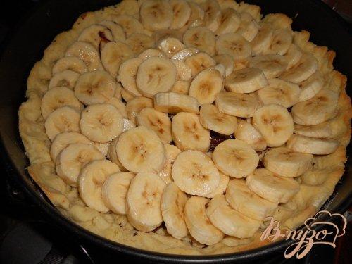 Нежный банановый тарт