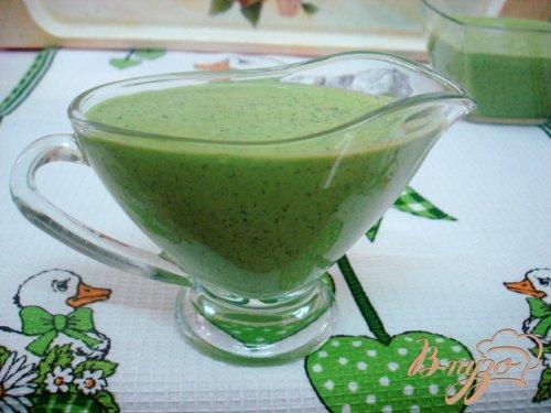 Зелёный соус