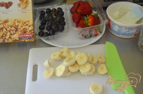 Парфе из свежих ягод и фруктов