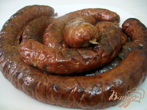 Печёночная колбаса