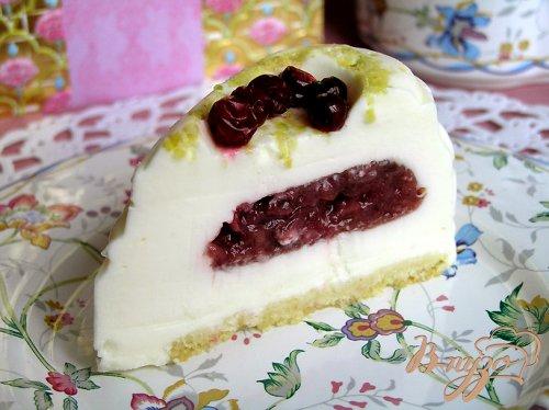 """Пирожное """"Любящее сердце"""""""