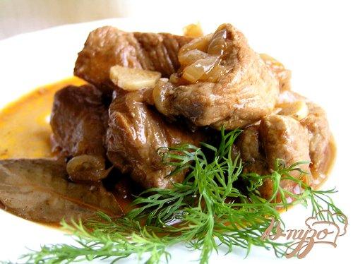 Филиппинское адобо из свинины