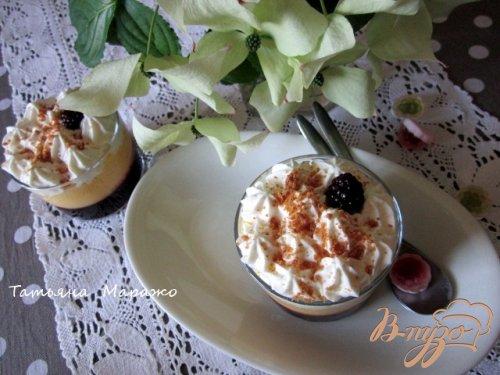 Ягодно-фруктовый трайфл