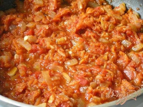 """Томатный суп со свининой и рисом """"Рубин"""""""