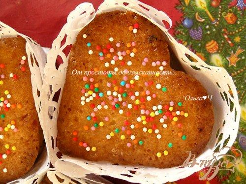 Кексы в подарок с лимоном, цукатами и курагой