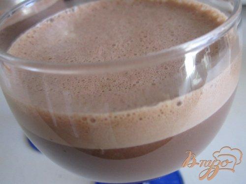 Шоколадный напиток с овсянкой
