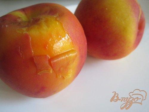 Десертные запеканки с персиками