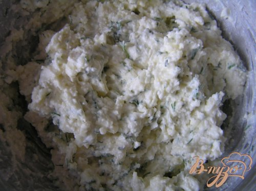 Творожно-сырные клецки