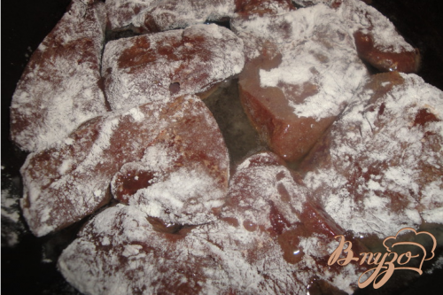 Печень с луком