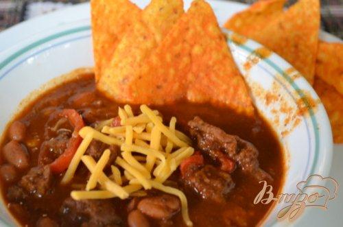 Техас Чили с фасолью