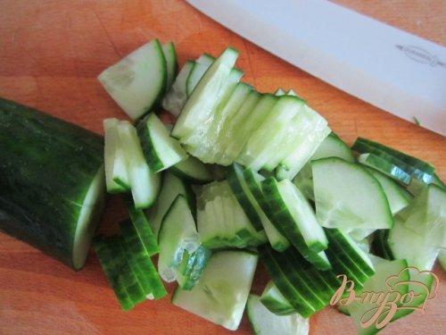 Овощной салат со свежей сладкой кукурузой