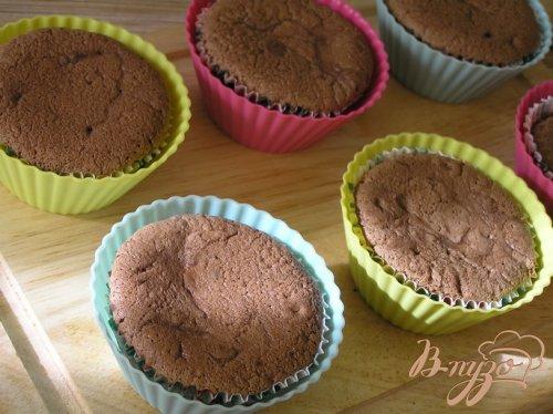 Шоколадные капкейки за 15 минут