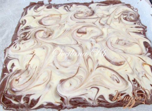 Шоколадный рулет на сгущенке