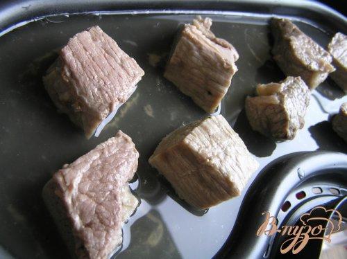 Мясное суфле с зеленой гречкой