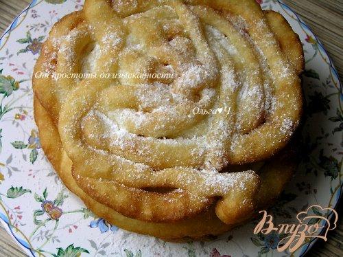 Crepe frisee или блинные кружева