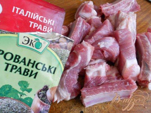 Свиные ребра по-провански
