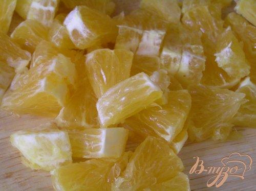 Лимоны с морковным салатом