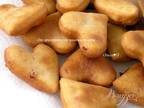 Пончики с брусникой
