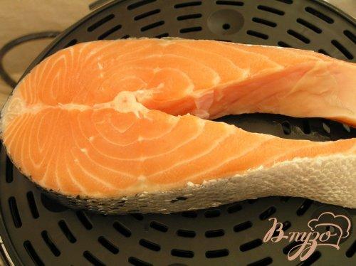 Мусс из лосося со шпинатом