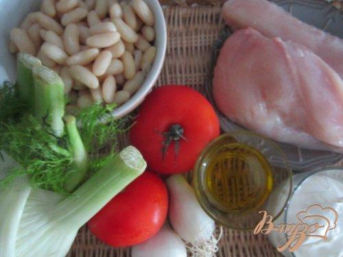 Овощная запеканка с куриными грудками