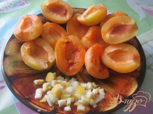 Перевернутый пирог с абрикосами