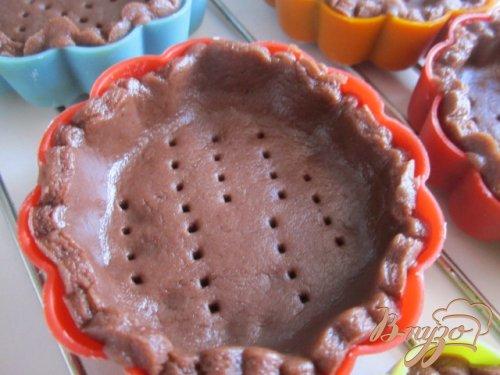 Шоколадные тарталетки с лимонным кремом