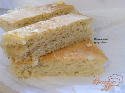 Хлеб с прованскими травами и чесноком