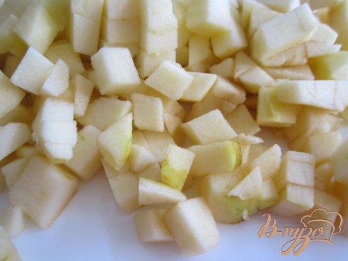 Молочный рис с яблоками