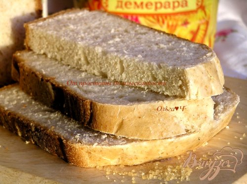 Хлеб с коричневым сахаром