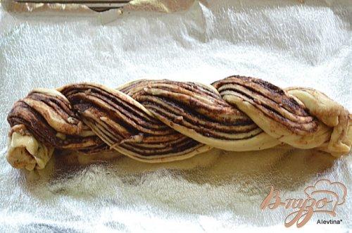 Шоколадный сладкий рулет по-мексикански