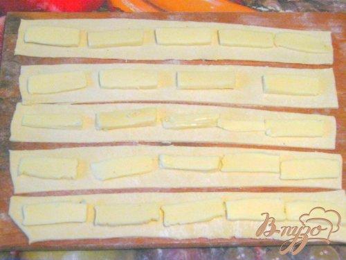 Слоёный пирог с сыром