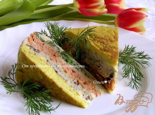 Пирог из четырех омлетов от Жиля Анженье