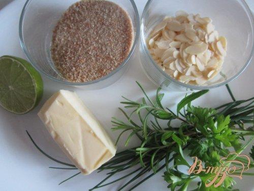 Филе скумбрии под ароматной корочкой (Crute d'herbes)
